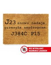 Wycieraczka antyPIS J384Ć P15 szyfr